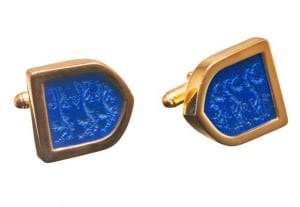 Custom cufflinks designer - Shield Cufflinks