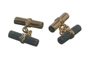 Custom cufflinks designer - Cylinder shape cufflinks