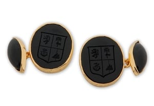 Cufflinks with Lozenge attachments