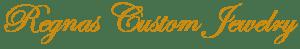 Regnas Custom Jewelry Retina Logo