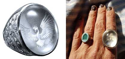 P.W. Crystal ring testimonial
