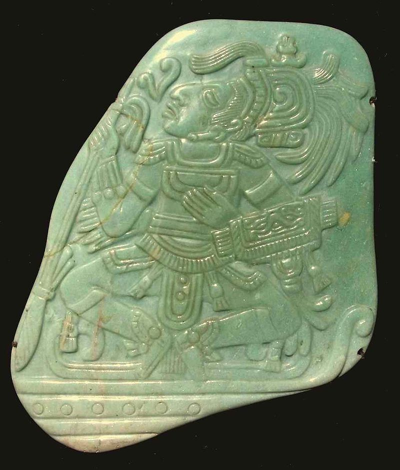 Myan Jade carving 195 mm high