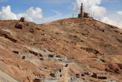 Potosi Silver Mine Cerro Rico Bolivia