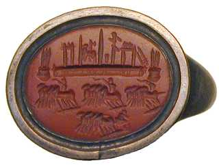 Roman Signet ring - Seal ring