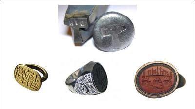 Signet Rings Seal Rings