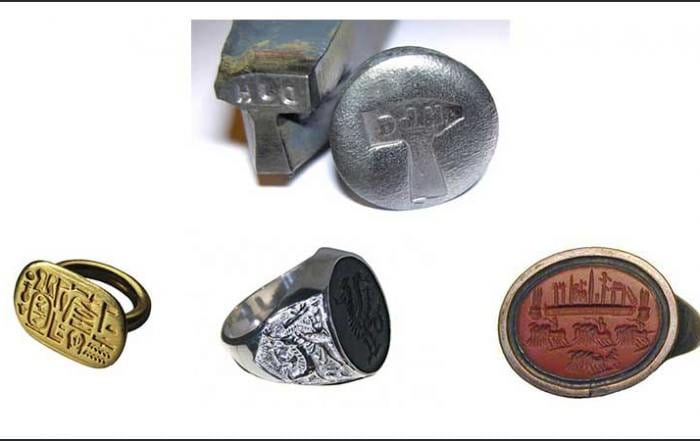 Signet Rings Seal Rings