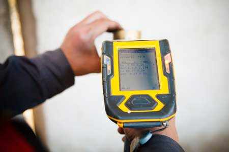 Karat measured by XRF analyzer
