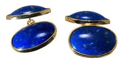 Double Oval Cufflinks