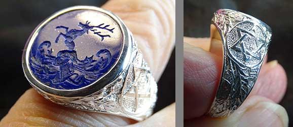 Christoph testimonial for Regnas Custom Jewelry