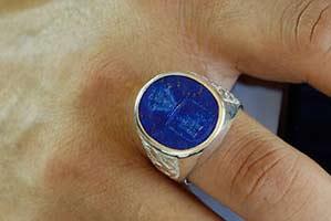 Celtic Crest ring