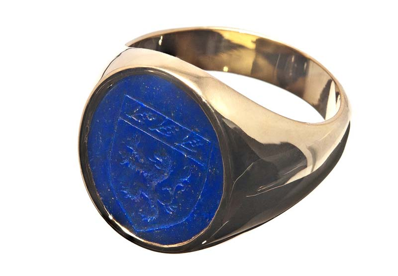 Lapis ring design