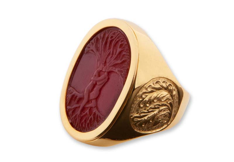 regans Red Agate Ring Designs