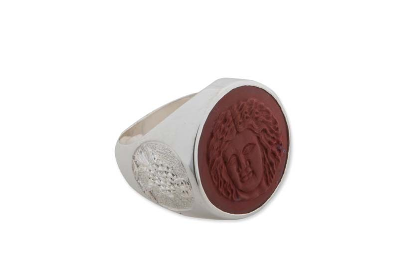 Red Jasper ring design