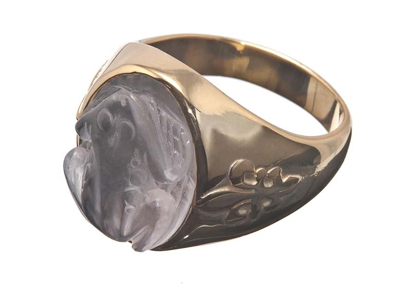 Rock Crystal ring design