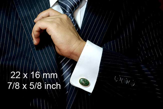 Cufflinks size 22mm