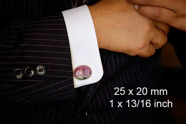 Cufflinks size 25mm