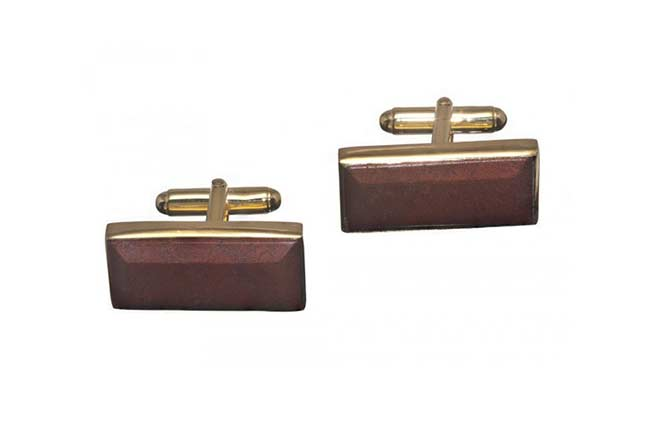 red jasper custom cufflinks