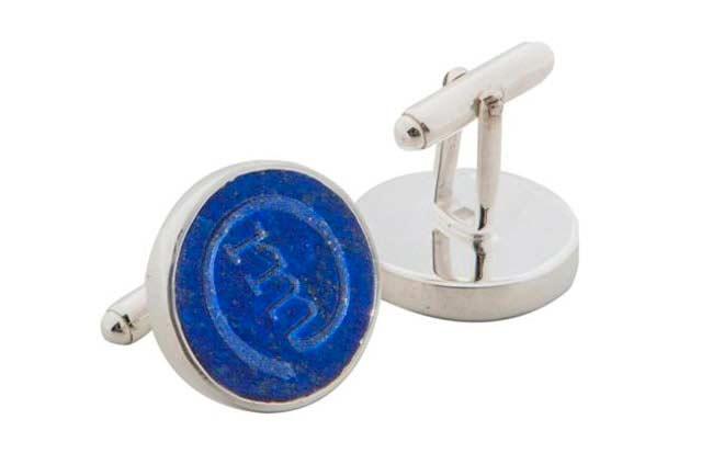 cufflinks designer - round cufflinks
