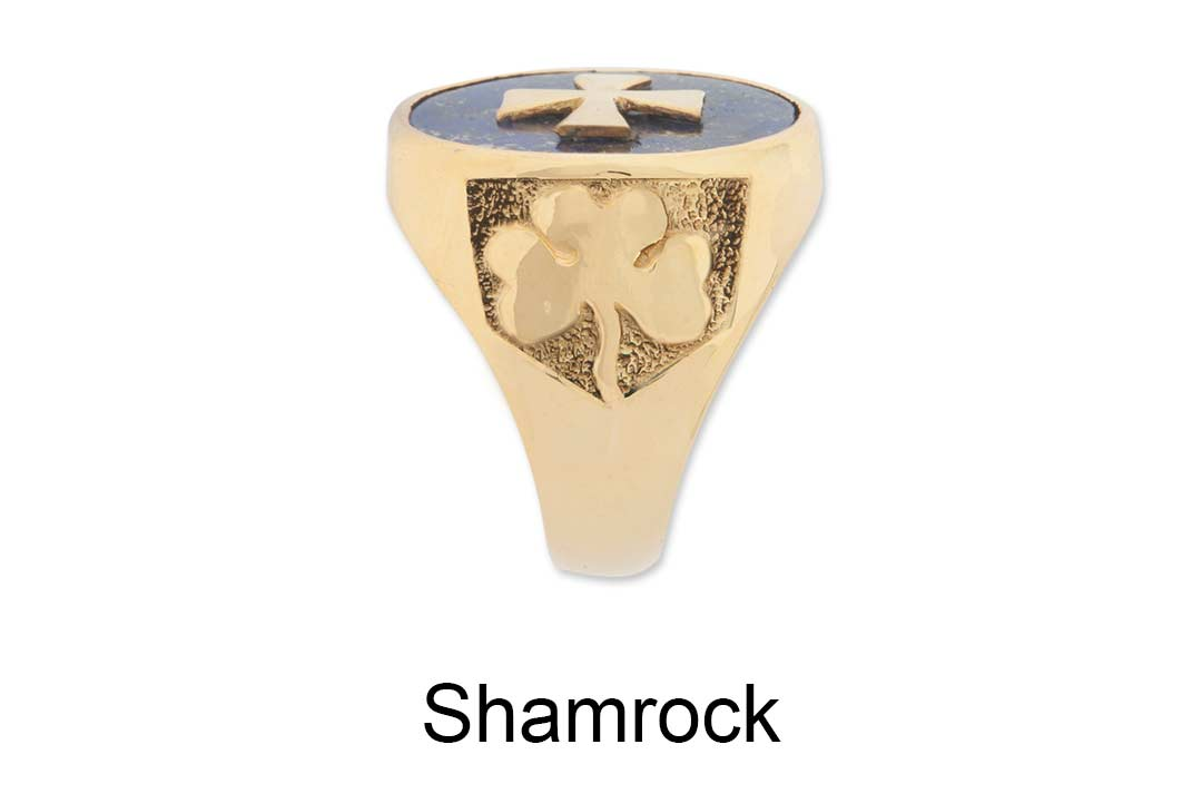 Shamrock Ring Shoulders