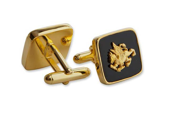 square custom cufflinks