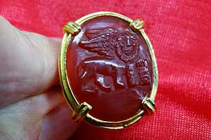 Regnas Red Agate ring review