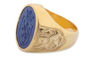 Heraldic ring review - Regnas