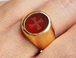 Templar cross ring review